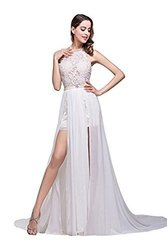 Babyonline Summer Beach Women's Wedding Gowns Dresses - White - Size: 6
