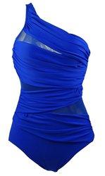 Cocoship Fashion Maillot Swimwear Swimsuit - Blue - Size: 16FBA