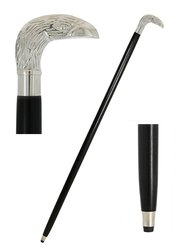 "Shalin India 36"" Eagle Head Walking Stick"
