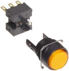 Omron Solder Terminal Projection Type Pushbutton and Switch (A16-TYM-1)