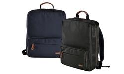 Olympia Usa Rhodes Ballistic Nylon Backpack: Dark Green