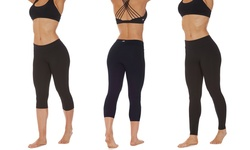 "Marika Performance Leggings: Black-16""/small"