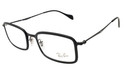 Ray Ban Women's Eyeglasses - Black Frame/Clear Lens