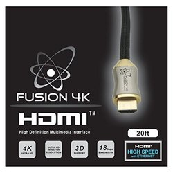 Fusion4K 20' High Speed 4K HDMI 2.0 Cable