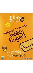 Ella's Kitchen Nibbly Fingers - Mangoes & Carrots - 4.4 oz