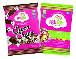TruJoy Sweets Vegan Variety Gummy Candy Pack - Pack of 12
