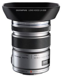 Olympus M.ZUIKO DIGITAL ED 12-50mm F3.5-6.3 EZ Lens (Silver)