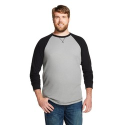 Mossimo Men's Big & Tall Long Sleeve Thermal T-Shirt - Cement - Size: XLT