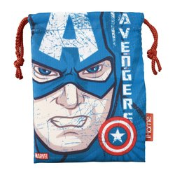 Marvel Avengers Captain America Noise Isolating earphones w/ Travel Pouch