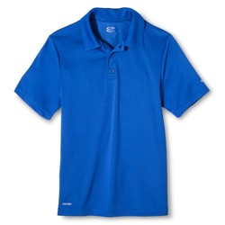 C9 Champion Boys Golf Polo - Awesome Blue - Size: Large