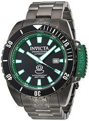Invicta Men's Pro Diver 19871 Black Stainless-Steel Automatic Watch