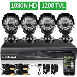 Defeway HD Outdoor Home Security Video Surveillance Camera System