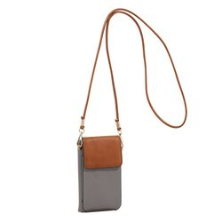 Miki Cell Phone Crossbody - Gray