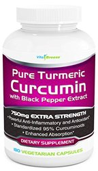 Turmeric Curcumin Complex With Black Pepper Extract - 750mg