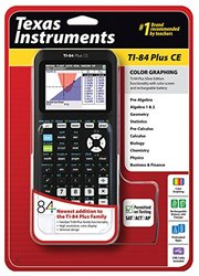 Texas Instruments TI-84 Plus CE Graphing Calculator - Black