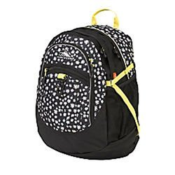 High Sierra Daisy Fatboy Backpack - Black