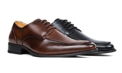 Signature Men's Lace-Up Dress Shoes - Wine - Size: 13