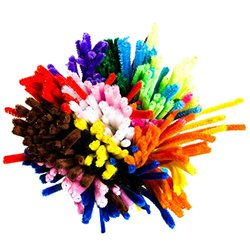 Edukit Jumbo Pack Of 360 Pipe Cleaners/Chenille Stems - Assorted - 12""