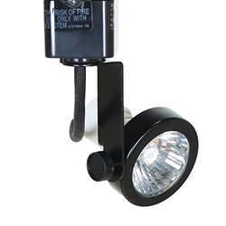 Direct-lighting 50067 Black Mr16 Gu10 Base Line Voltage Track Lighting Head