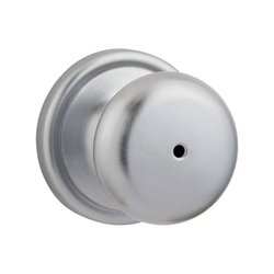 Satin Chrome Signature Series Hancock Privacy Door Knob