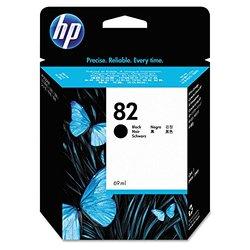 HP CH565A 82 Black Ink Cartridge - Black - Inkjet For Designjet 510