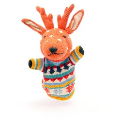 ChunkiChilli Kids Reindeer Hand Puppet Toy