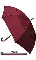 Collar And Cuffs London Umbrella - Burgundy Red - Size: Large