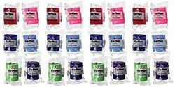Andover Coflex Self Adherent Elastic Wrap 3'' Colorpack 24/box