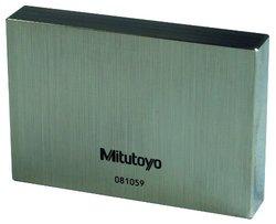 Mitutoyo 611612-516 Steel Rectangular Gage Block, ASME Grade K, 2mm Length