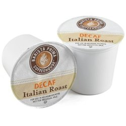 Barista Prima Italian Roast Decaf Coffee K-Cup - Pack of 2/ 24 count each