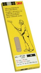 3M Drywall Die Cut M 127 Sheets - Size: 4-3/16 by 11-1/4-Inch