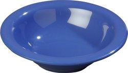 Carlisle Sierrus Melamine Rimmed Bowls - Ocean Blue - 13 Oz