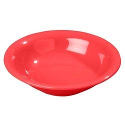 Carlisle Sierrus Melamine Rimmed Bowls - Red