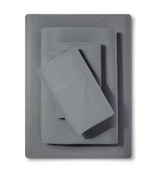 Threshold Percale Sheet Set - Grey - Size: King