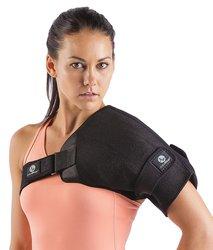 ActiveWrap Shoulder Wrap for Right or Left Shoulder - Black - Size: L/XL