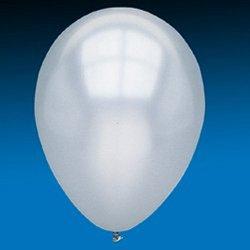 Fun Express 11 Silver Metallic Latex Balloons (12 Dozen) - BULK by Fun Express 144