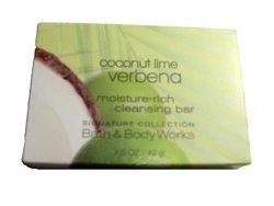 Coconut Lime Verbena Moisture Rich Cleansing Soap - 12 Bars - 18oz