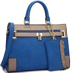 Dasein Fall Preview Collection Handbags: Blue