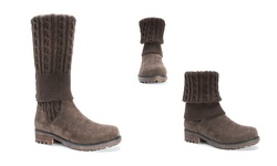 Muk Luks Women's Kelby Boots - Brown - Size: 8
