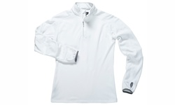 Zorrel Men's 1/4 Zip Fleece Pullover - White - Size: XL