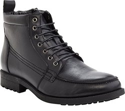 Marco Vitale Men's 42063 Casual Laceup Boot, Black, 10.5