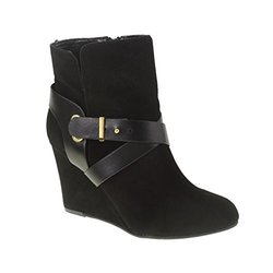Chinese Laundry Women's Ultimate Split Suede Boot - Black - Size: 8