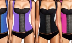 Sport Band Waist Trainer Vest: Black/Large