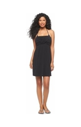 Merona Women's Knit Tube Cover Up Dress - Black - Size: Small