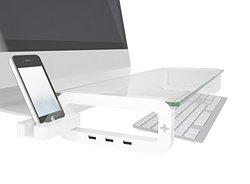 Smart Monitor Stand - White (LYSB00W744CA6-CMPTRACCS)