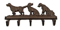 Iwgac Home Indoor Decorative Dog Cast Iron Hook - Brown