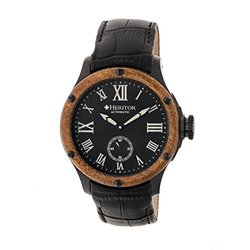 Heritor Automatic Men's Watch: Montrichard/hr4507-black Dial