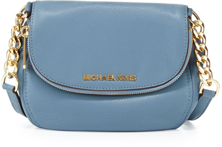 97160d9ae21e Michael Kors Bedford Leather Crossbody Bag - Blue - Check Back Soon ...