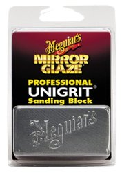 Meguiar's K1000 Mirror Glaze Unigrit Sanding Block - 1000 Grit