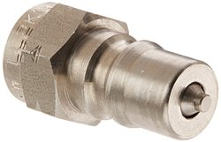 "Eaton Hansen Stainless Steel 303 Hydraulic Fitting -1/4""-19 BSPP Female"